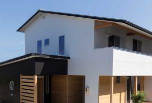 三重の和モダン、お客様の家。三重の木と漆喰で建てる注文住宅