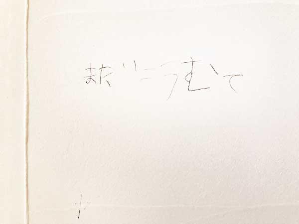 漆喰の壁 落書き その③
